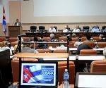Clausura del II Simposio Internacional, La Revolución cubana, Génesis y Desarrollo Historico, Palacio de Convenciones, La Habana, Cuba.