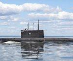 Submarino Krasnodar de la Armada rusa. Foto tomada de Russia Today.
