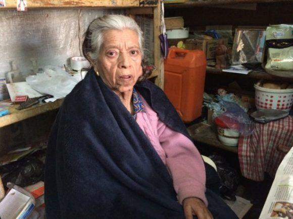 Susana Osinaga fue la enfermera que lavó el cadáver del guerillero. Foto: César G Calero