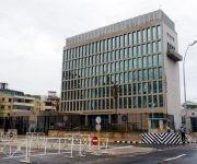 Embajada de Estados Unidos en La Habana. Foto: Ernesto Mastracusa
