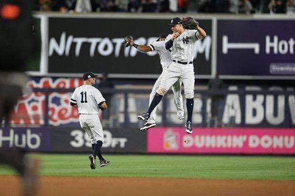 Los Yankees empatan 2-2 la Serie de Campeonato en la Liga Americana. Foto: @Yankees_Beisbol/ Twitter.