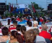 Acto por el aniversario 30 de la empresa de componentes electrónicos Ernesto Ché Guevara, en Pinar del Río, Cuba,  6 de octubre de 2017. ACN FOTO/Rafael FERNÁNDEZ ROSELL