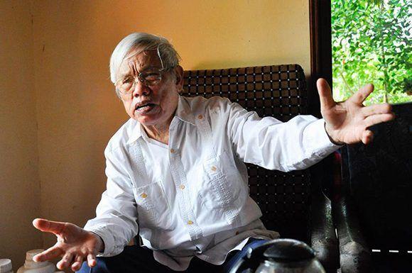 Augusto asegura que Che valoró muy alto las prácticas guerrilleras vietnamitas y que en eso tuvieron mucho que ver sus intercambios con Noup. Foto: Marta Llanes/ Prensa Latina.
