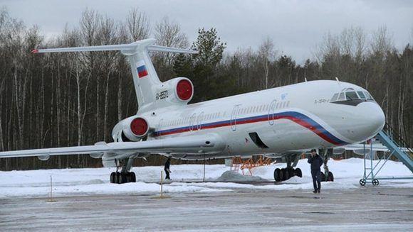 Tupolev Tu-154. Foto: Reuters.