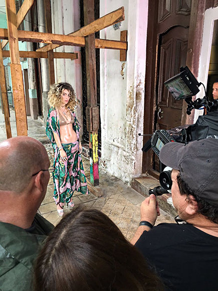 Belinda en Cuba. Foto: @belindapop