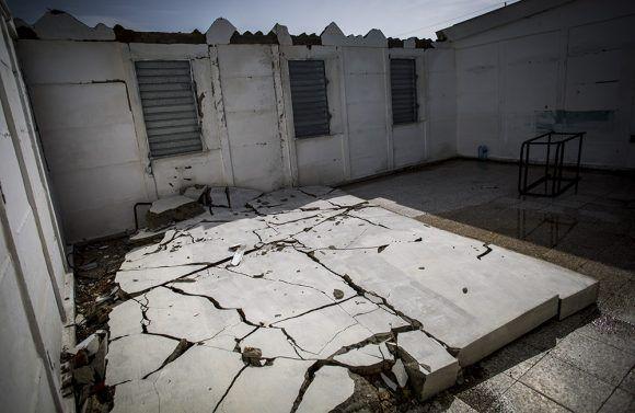 Todas las generaciones de Cambaito han pasado por estas pequeñas aulas que todavía hoy muestran las marcas de Irma. Foto: Irene Pérez/ Cubadebate.