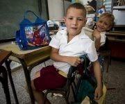 Los niños de Cambaito. Foto: Irene Pérez/ Cubadebate.