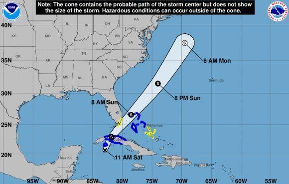 Se forma la decimoctava depresión tropical: Afectará a Cuba en la tarde-noche de hoy