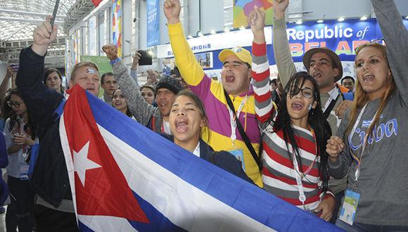 La delegación cubana participó en 35 espacios de intercambio, entre foros, paneles y conferencias previstas. Foto: Luis Mario Rodríguez Suñol