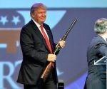 Donald Trump enfatiza aún más la política exterior militarizada de los Estados Unidos. Foto: AP.