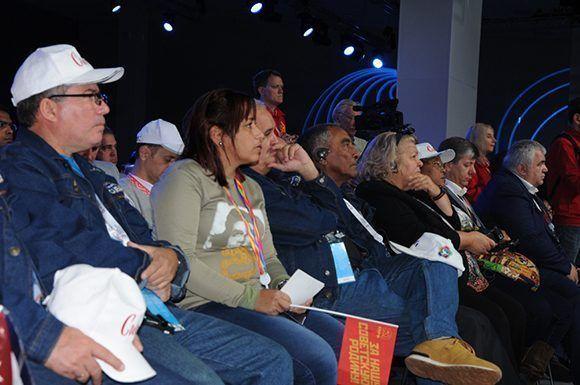 Miembros de la delegación cubana. Foto: Luis Mario Rodríguez Suñol/ Cubadebate.