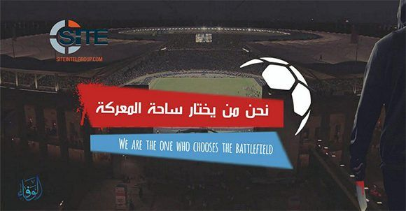 El Estado Islámico continúa con sus amenazas hacia la Copa del Mundo de 2018, que se celebrará en Rusia del 14 de junio al 15 de julio del próximo año.