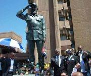 Inauguran estatua del Comandante en Jefe, Fidel Castro Ruz en Sudáfrica. Foto: Embajada de Cuba en Sudáfrica.