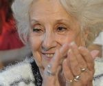 Estela de Carlotto anuncia el encuentro de la nieta 125. Foto: Telam