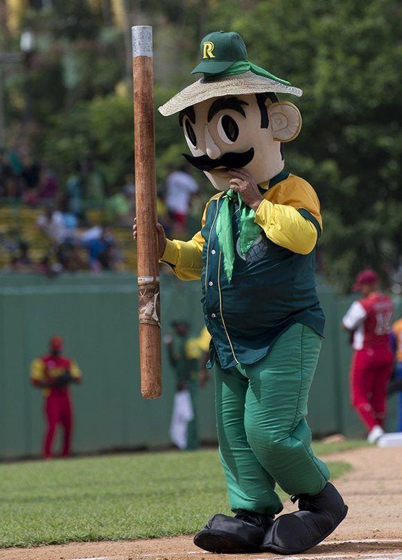 Veguero la nueva mascota de Pinar del Rio. Foto: Ismael Francisco/Cubadebate.