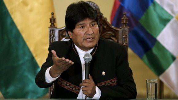 El presidente de Bolivia, Evo Morales criticó las declaraciones de la oposición que pidió contabilizar los votos nulos con los blancos. Foto: PL