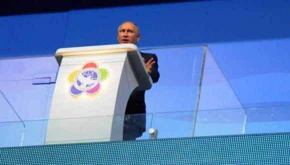 Putin inauguró el XIX Festival Mundial de la Juventud y los Estudiantes. Foto: Luis Mario Rodríguez Suñol / Cubadebate
