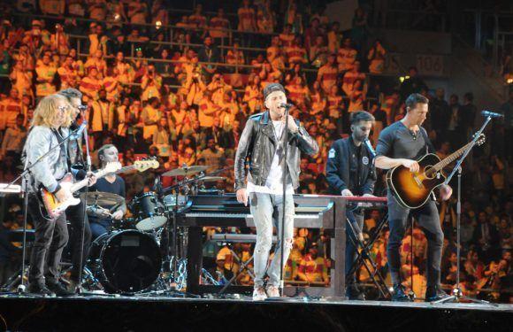 Grupo estadounidense de rock One Republic cerró la Inauguración del XIX Festival Mundial de la Juventud y los Estudiantes. Foto: Luis Mario Rodríguez Suñol / Cubadebate