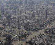 Casas arrasadas en Santa Rosa (Jeff Chiu / AP)