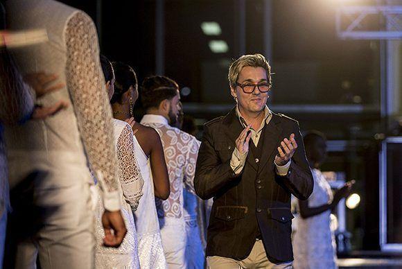 Semana de la Moda en la Habana, diseñador Mario Freixas. Foto: Ismael Francisco/ Cubadebate.