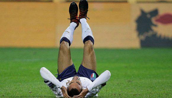 Italia empata (1-1) con Macedonia y jugará la repesca. Foto: Marca