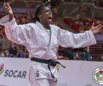La cubana Kaliema Antomarchi, campeona de los 78 kilogramos.