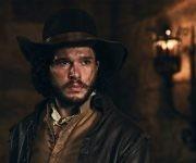 El actor Kit Harrington en Gunpowder.