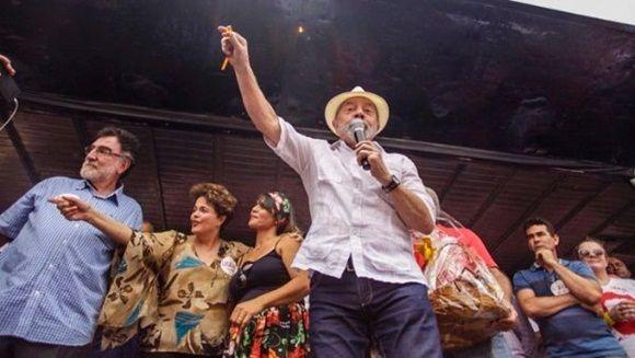 Lula Da Silva reiteró que participará en las elecciones presidenciales de 2018. | Foto: @Brasil_de_Fato