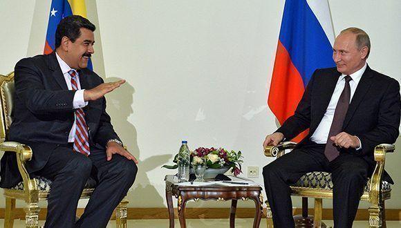 Maduro: Rusia incrementará inversiones en gas y petróleo en Venezuela