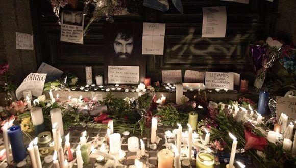 Maldonado se ha convertido en un símbolo de la lucha contra el Estado. Foto: AFP