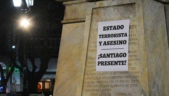 Justicia para Santiago Maldonado. Foto: Santiago Fraga / Conclusión