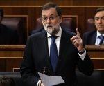 Mariano Rajoy, hoy en el Congreso de los Diputados. Foto: Luis Sevollano/ El País.