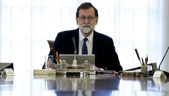 Mariano Rajoy presidió una sesión extraordinaria en el palacio de la Moncloa. Foto: Getty Images