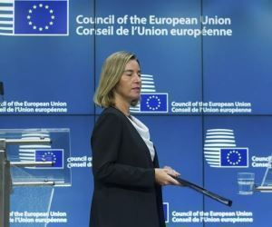 La alta representante de la UE para la Política Exterior, Federica Mogherini. Foto: EFE.