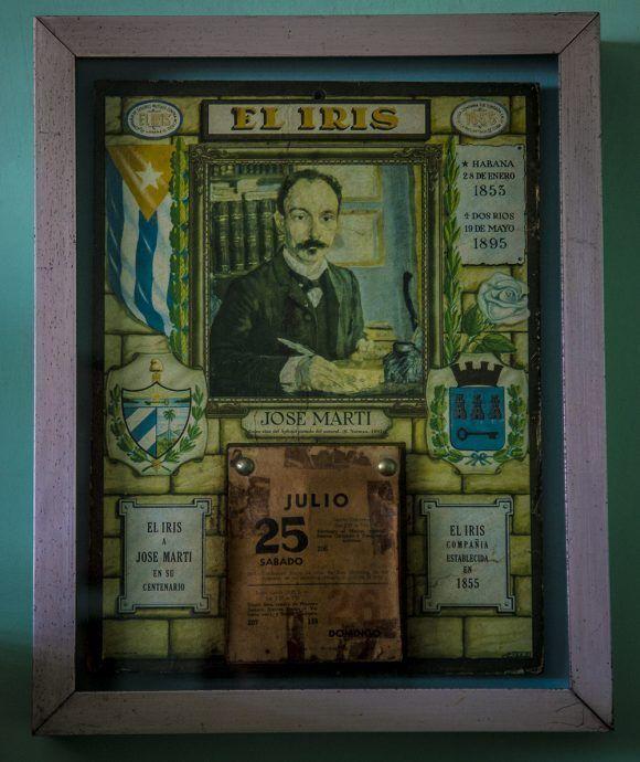 Almanaque de la Casa Museo Abel Santamaría. Foto: Irene Pérez / Cubadebate