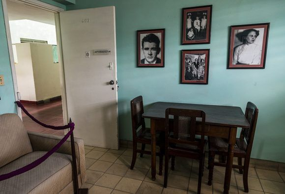 Sala de la Casa Museo Abel Santamaría. Foto: Irene Pérez / Cubadebate