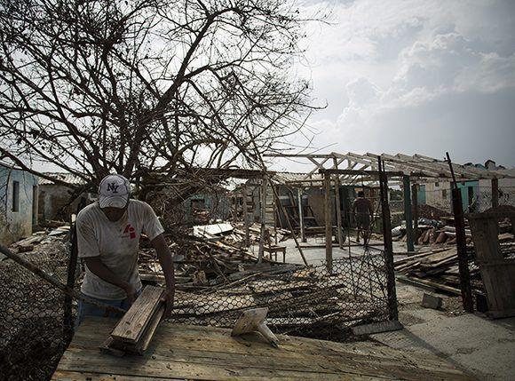 En esa zona más del 81% de las viviendas fueron afectadas. Foto: Irene Pérez/ Cubadebate.