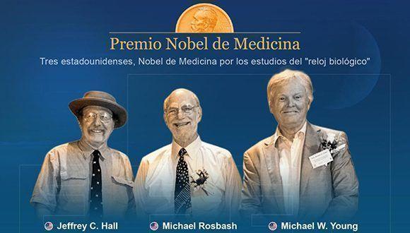 Detalle de la infografía de la Agencia EFE sobre el Premio Nobel de Medicina.
