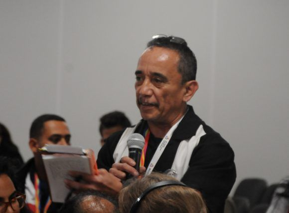 Gerardo Sánchez, miembro del Partido Socialista de los Trabajadores en Estados Unidos. Foto: Luis Mario Rodríguez Suñol / Cubadebate