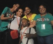 La imagen de los delegados, y sobre todo de las delegadas, es muy importante en el Festival. Foto: Luis Mario Rodríguez Suñol/ Cubadebate.