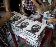 El libro fue editado por Centro de Estudios Che Guevara y la Editorial Ocean Sur. Foto: Irene Pérez/ Cubadebate.