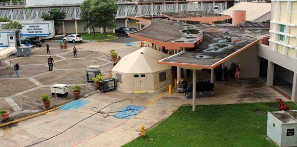 El principal complejo hospitalario de Puerto Rico ha sufrido las interrupciones en el servicio.