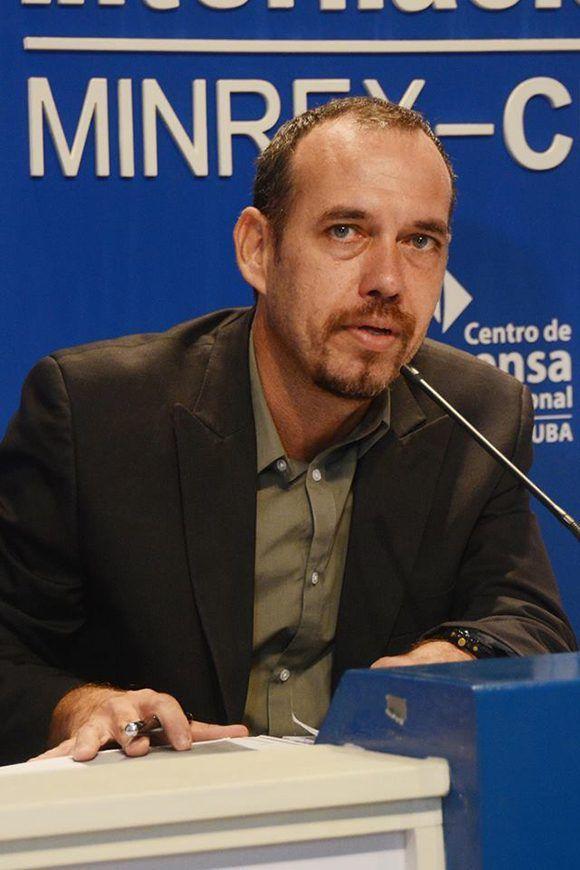 Raúl Garcés, presidente del Comité Organizador. Foto: @fcomUH/ Facebook.