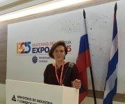 Tatiana Mashkova, vicepresidenta del Comité empresarial Rusia-Cuba y también directora general del Comité Nacional para la Colaboración Económica entre los países de América Latina y Rusia. Foto: Cubadebate.