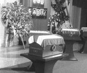 Los restos del Che en Santa Clara, año 1997. Foto: Archivo/Vanguardia.