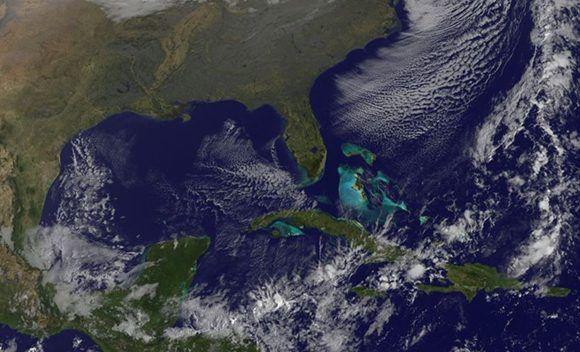 Luego del paso de la tormenta tropical Philippe, regresa la calma climática a Cuba. Imagen: GOES/ Vía INSMET Cuba.