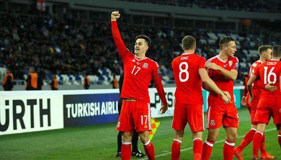Gales gana en Georgia con gol de Lawrence y sigue aspirando en el Mundial. Foto: Marca