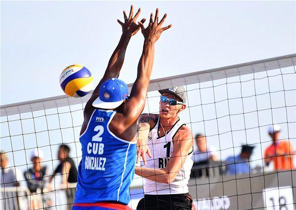 Cuba perdió ante Rusia en semifinales. Foto: FIVB.