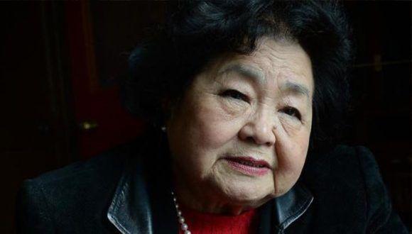 Setsuko Thurlow, sobreviviente de la bomba atómica lanzada sobre Hiroshima. Foto: Brenda Fitzsimons