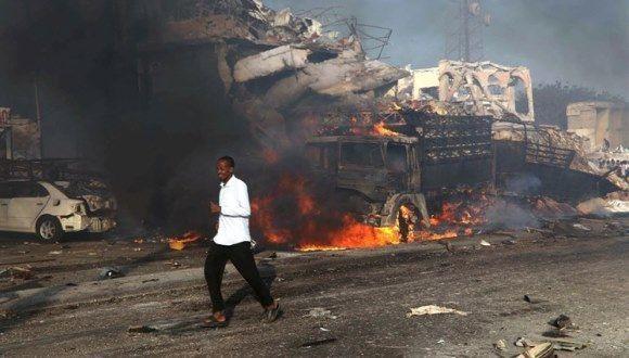Se trata del mayor atentado con bomba en la historia de Somalia. Foto: Reuters.
